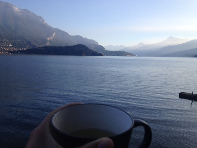 Lake Como in the morning