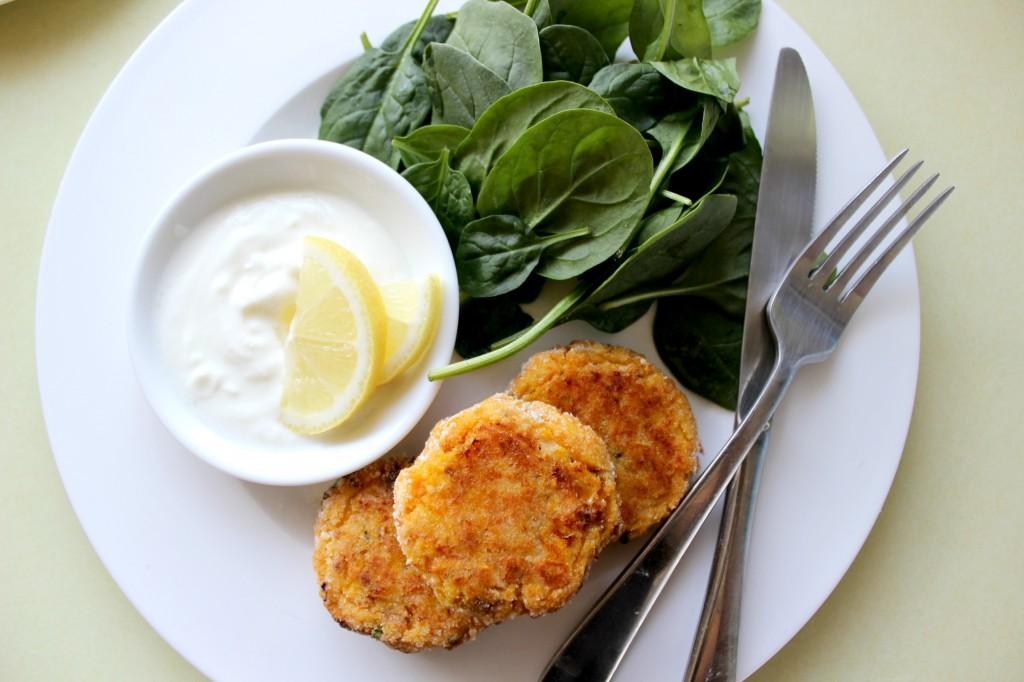 Salmon Fishcakes with Sweet Potato
