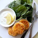 Salmon Fishcakes with Sweet Potato & Pumpkin