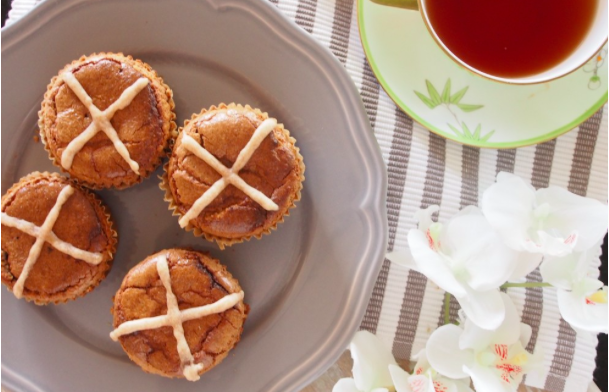Hot Cross Buns - 2 delicious recipes for the whole-foodie - An Apple a Day