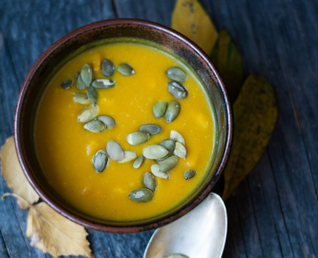 Pumpkin soup - An Apple a Day