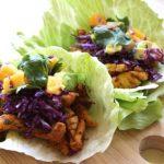 Paleo Fish Tacos with Avocado & Mango Salsa