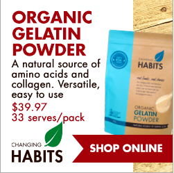 Organic Gelatin Powder - An Apple a Day