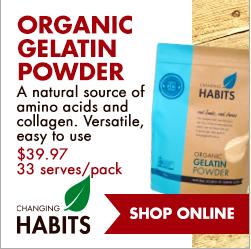 Organic Gelatin Powder - An Apple a Day