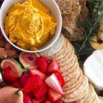 Roast Pumpkin & Cashew Dip