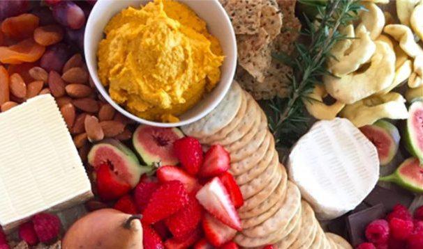 Roast Pumpkin & Cashew Dip - An Apple a Day