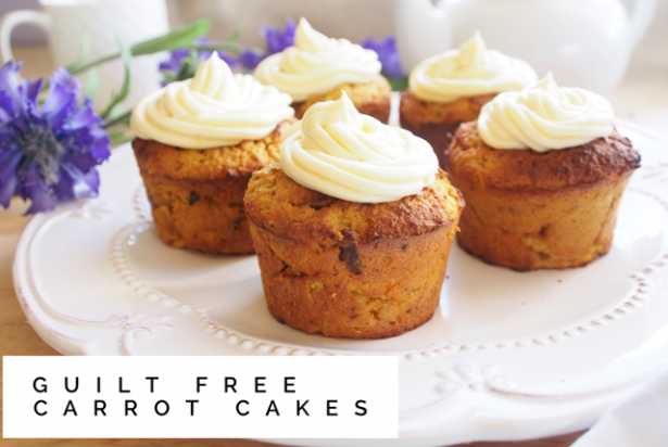 Carrot Cakes - An Apple a Day