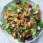 Pumpkin Beetroot Salad - An Apple a Day