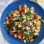 Roast Veg Quinoa Salad - An Apple a Day