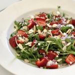 Strawberry Salad - An Apple a Day - Alyse Co-cliff