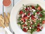 Strawberry & Rocket Salad 2- An Apple a Day