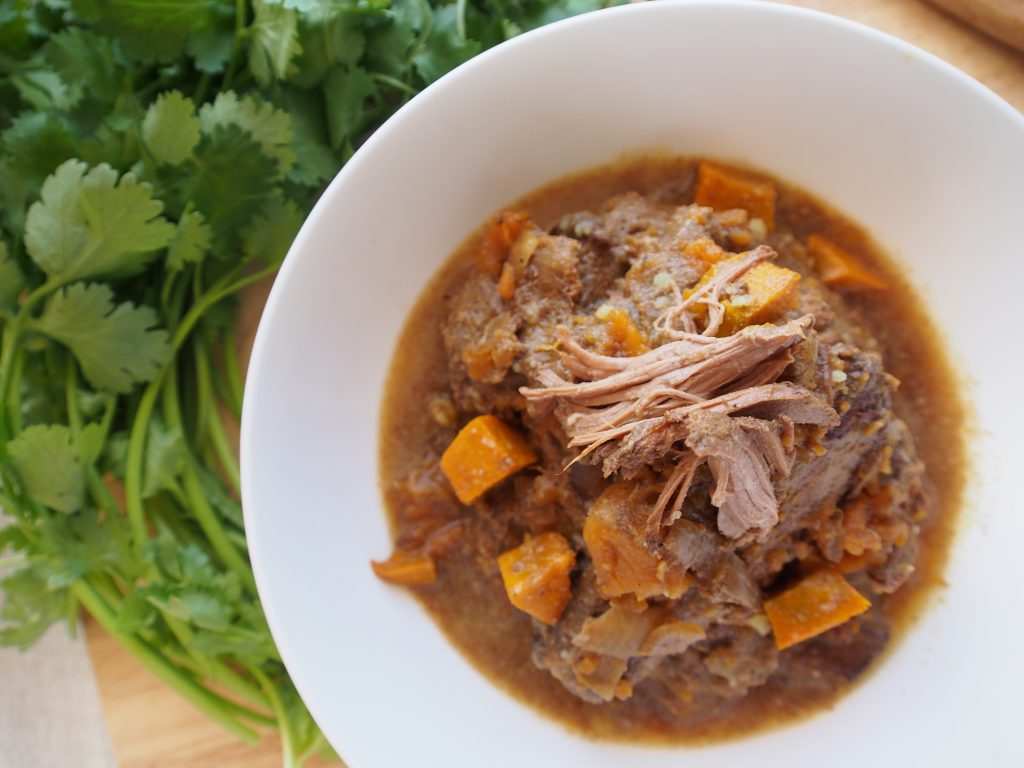 Slow Cooked Lamb Curry - An Apple a Day