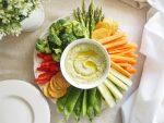 Zucchini Hummus - An Apple a Day